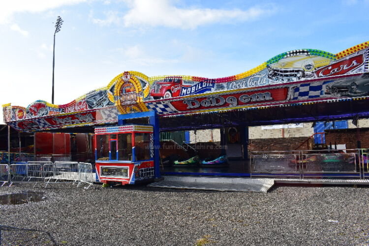 The Rock N Roll Dodgem Cars are available to hire