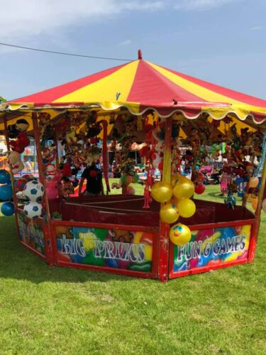 One of our fairground games stalls that is available to hire
