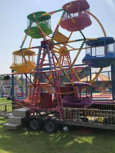 Photograph of the Little Wheel childrens ride, which is available to hire