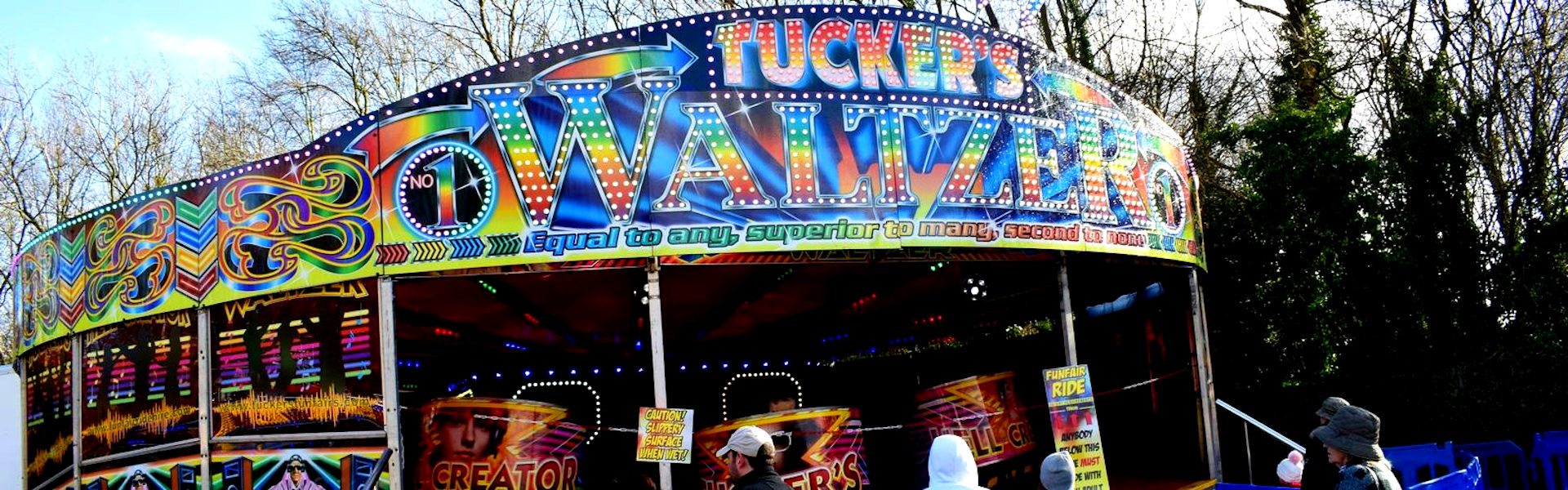 Photograph of Funfair Ride Hires Waltzer