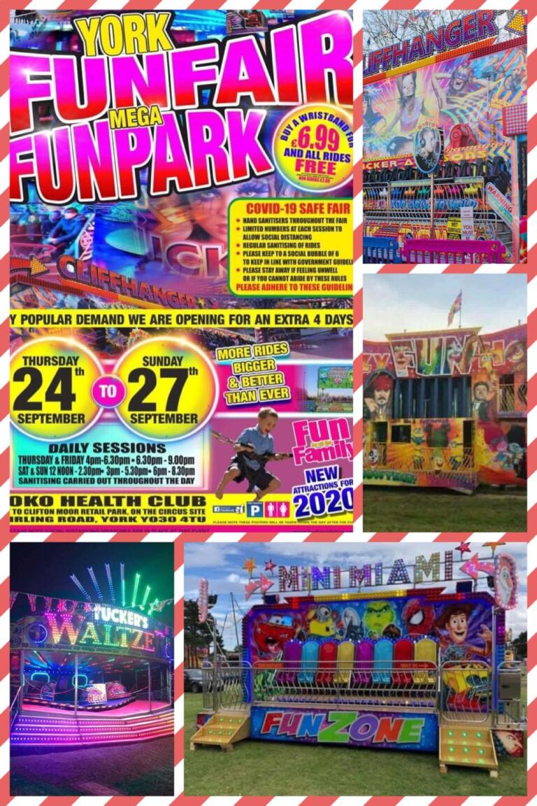 York Mega Fun Park, Extra dates 24th to 27th September