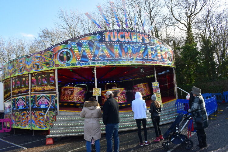 George Rowland Tuckers Waltzer, a traditional fairground that is available to hire