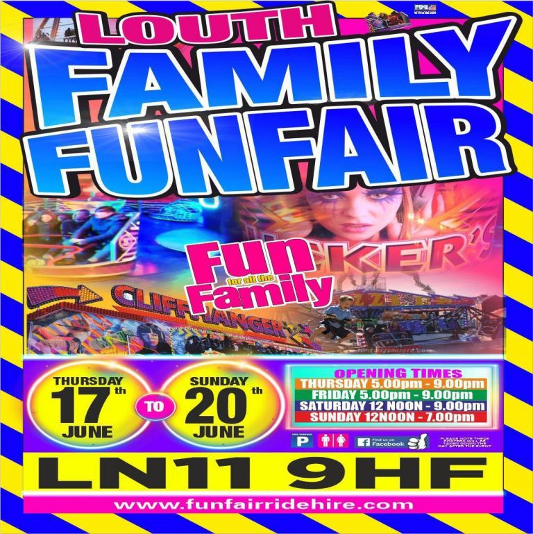 Louth Funfair Poster